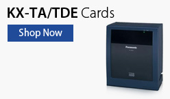 Panasonic BTS KX-TDE Central Office Cards