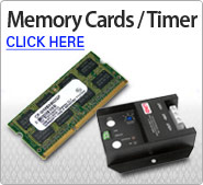 Memory Cards/Timer