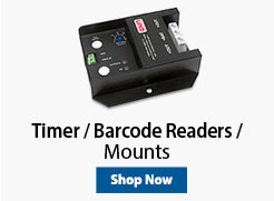 Timer / Barcode Readers / Mounts
