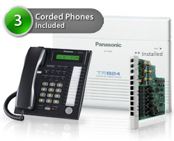 Telephone Systems panasonic bts kx ta824pk