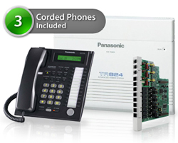Telephone Systems KX TA824 5CO