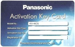 Panasonic IP SIP Phone Port Activation Keys panasonic bts kx ncs3708