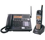 Panasonic KX-TG4500B-R 4-Line 5.8GHz Cordless Phone