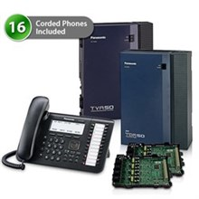 Telephone Systems panasonic kx tda50g dt546 1card vm