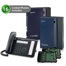 KX TDA50G Digital Business Phone Systems panasonic kx tda50g dt543 2cards