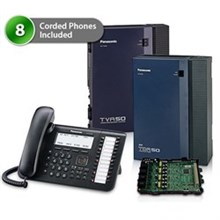 8 Phone Bundles panasonic kx tda50g dt546 8x 1card vm
