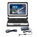 Panasonic BTS CF-20C5099KM with AC Adapter 10.1 Inch Fully Rugged Lapt 444444-5