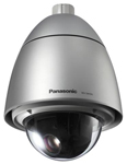 """""""Panasonic WV-SW395 Brand New Includes One Year Warranty, The Panasonic WV-SW395 weather-resistant, dome network pan-tilt-zoom (PTZ) camera features super dynamic image processing and 18x optical zoom"""