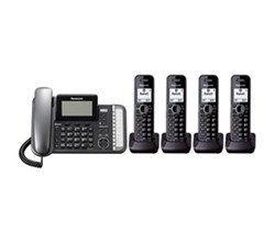 Panasonic 2 Line Phones panasonic KX TG9582B 2 KX TGA950B