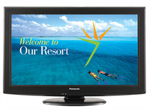 Panasonic Bts Th-42lru5 42 Inch Lcd Professional Display With Ftg Hd