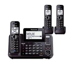 Panasonic 2 Line Phones Panasonic KX TG9542B 1 KX TGA950B
