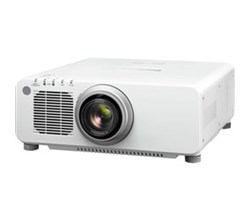 fixed projectors panasonic pt dz870u