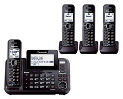 Panasonic 2 Line Phones panasonic KX TG9542B 2 KX TGA950B